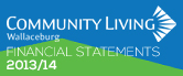 Community Living Wallaceburg 2013-14 Financial Statements